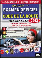 Code de la route 2013 - Dvd Interactif - TBE