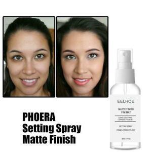 Phoera Matte Makeup Setting Spray Face Primer Foundation Fix Fixer Hydrate Z3Q1