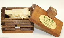"small LOG CABIN INCENSE BURNER 2.5""x3.5"" with 10 balsam fir logs Paine's"