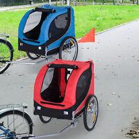 Pet Dog Bike Trailer Bicycle Stroller Jogger Folding Travel Carrier