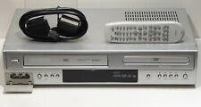 HiFi VHS Videorecorder+DVD Player Kombigerät richtige Fernbed. Videorekorder