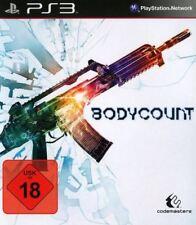 PS3 / Sony Playstation 3 Spiel - Bodycount (mit OVP) (USK18) (PAL) NEUWARE