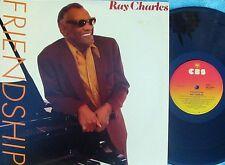Ray Charles ORIG OZ LP Friendship EX '84 CBS Country Soul Pop