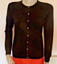 Marks & Spencer Cashmere Cardigan Size 12 Black