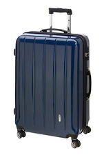 Trolley Boardcase 50 cm Koffer Trolly Handgepäck mit TSA London carbon blau