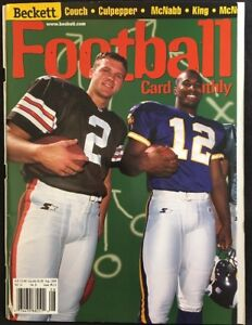 Beckett Football Card Monthly Magazine #113 Couch Culpepper Cover August 1999