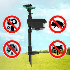 Solar Animal Repellent Motion Activated Water Yard Garden Spray Sensor
