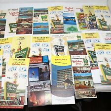 25 Vintage Holiday Inn Travel Souvenir Brochure 1960's 1970's