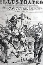 Grant Arkansas Politics 1875 STATES RIGHTS CONSTITUTION JUDGE POLAND Matted Art