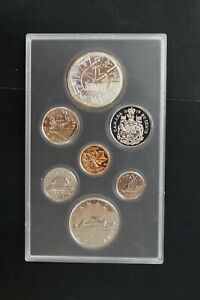 Canada 1978 double $1 silver copper nickel proof set (d035)