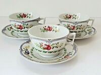 "Copeland Spode ""Avondale"" Cups and Saucers; #637555 (3 sets)"