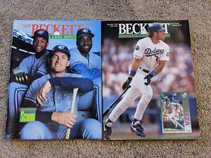 Beckett Baseball Card Monthly Magazine 1993 Lot of 2
