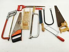 9 Sägen Konvolut Werkzeug Set 9 verschiedene Sägen Handwerkzeug Handsäge