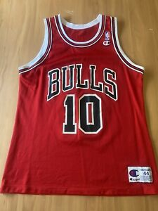 Rare Chicago Bulls BJ Armstrong #10 Jersey Champion Size 44