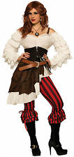 Womens Renegade Ruby Pirate Costume Swashbuckler Renaissance Adult Size XS/SM