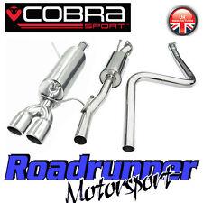 "FD61 Cobra Fiesta MK7 Zetec S Exhaust System 2"" Stainless Cat Back NON-FLEX Type"