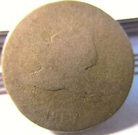 1857 Flying Eagle Cent - Rare Copper Penny