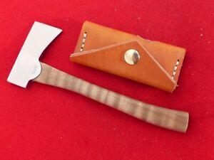 "McDowell Bad Axe, NM mint miniature custom handmade 2.5"" wide blade hatchet axe"