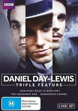 Daniel Day-Lewis : Triple Feature (DVD, 2013, 2-Disc Set) NEW, SEALED, FREE POST