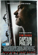 Movie Poster CAPTAIN PHILLIPS Tom Hanks 2013 - Biography Drama - Pirate Hostage