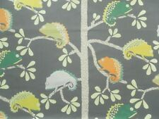 Harlequin Scion Curtain Fabric Calmer Chameleon 2.9m Moss/citrus Design 290cm