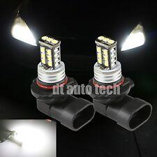 2X H11 900LM 6000K Xenon White 3535 Chip High Power LED Fog Light Lamp