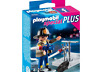 Playmobil Spécial plus - 4795- Pompier avec matériel et Bouche à incendie