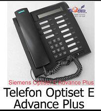 SYSTEMTELEFON SIEMENS OPTISET E ADVANCE PLUS BLACKS30817-S7006-A108-2 TOP CONDIT