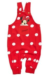 Baby Minnie Mouse Latzhose Mädchen 62/68 74/80 86/92