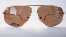 Eschenbach Herren Pilot Sonnenbrille sportlich bicolor Metall 100% UV nos size L