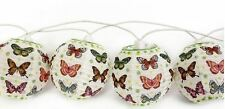 10 Butterfly Lights Lantern Home Decoration Vintage Paper Fairy Bedroom Gift Fun
