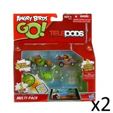 Angry Birds Telepods Oficial Go Kart Multi Pack Figuras Car Set Tablet Juego X2