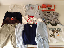 12 pc baby clothes lot,boys mix set 3 mon pre-owned