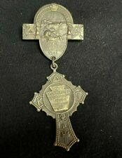 Knights Templar Pin Beaver Valley Commandery No. 84 Vintage