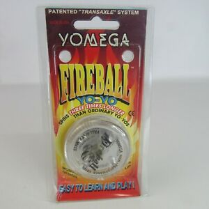 Yomega Fireball Yo-Yo NEW Transparent Transaxle Spins Longer