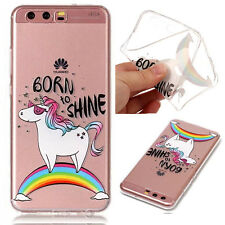 New pattern Rainbow Unicorn Soft TPU Phone Cover Case For Various phone models