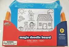 New Play Right Magic Doodle Board Magnetic Drawing Board. Blue
