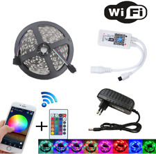 LED Strip Rope Light Waterproof Multi Color Changing Lights With Remote Wifi
