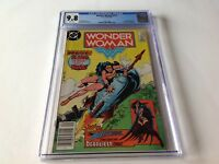 WONDER WOMAN 319 CGC 9.8 WHITE PAGES ROCKET COVER DR CYBER HUNTRESS DC COMICS