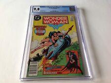 WONDER WOMAN 319 CGC 9.8 WHITE PAGES ROCKET COVER DR CYBER HUNTRESS DC COMICS