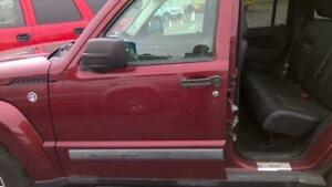(NO SHIPPING) Front Door JEEP LIBERTY Left 08 09 10 11 12