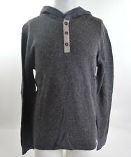 2014 NWT MENS ELEMENT TRADER HENLEY SWEATER $55 M charcoal heather pullover