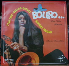 MARIO CAVALLERO BOLERO CHA-CHA RUMBA  AFRO CHEESECAKE COVER FRENCH LP JB