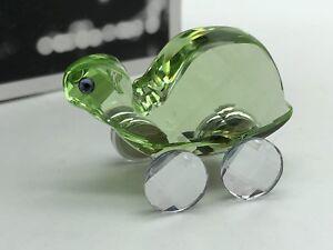 Swarovski Figurine 680848 Theo Die Turtle 4 Cm. Top Condition
