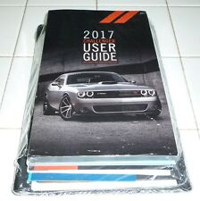 2017 DODGE CHALLENGER USER GUIDE OWNERS MANUAL SET 17 SRT 392 HELLCAT +case NEW