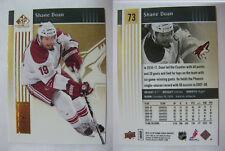 2011-12 SP Game Used #73 Shane Doan 1/1 gold platinum  coyotes 1 of 1 RARE