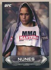 AMANDA NUNES #93 2014 Topps UFC Knockout 2nd YEAR card