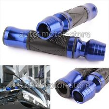"Universal Motorcycle 7/8"" Handlebar Hand Grip Bar End For Suzuki GSXR 750 600 3Z"