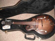 New listing Darkwood USA semi hollow electric mandolin-American made