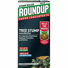 Roundup Tree Stump And Root Killer Super Concentrate 250ml FREE Delivery